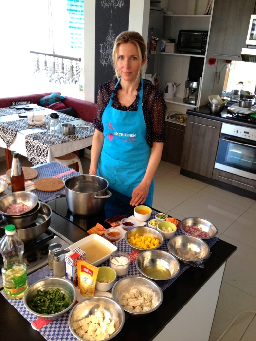 Aprendiendo cocina Peruana el blog de Modesta